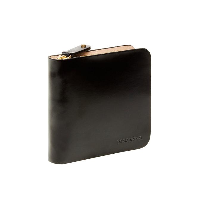 Skórzany portfel vagabond, czarny, 944-6130 - 13
