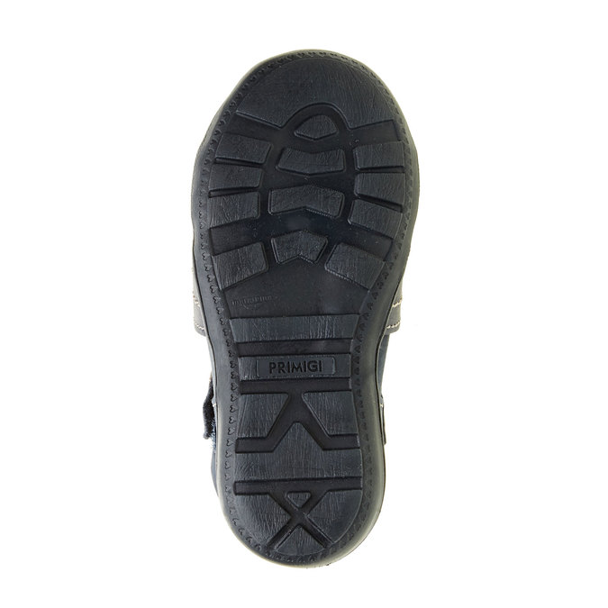 Dziecięce skórzane sandały primigi, niebieski, 113-9009 - 26
