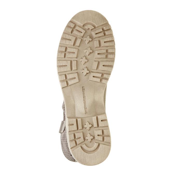 Damskie zamszowe półbuty weinbrenner, brązowy, 596-9102 - 26
