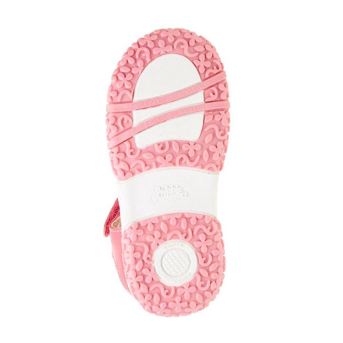 Dziecięce buty z zakrytą piętą bubblegummer, różowy, 124-5142 - 26