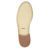 Damskie skórzane półbuty ze zdobieniem bata, beżowy, 524-8482 - 26