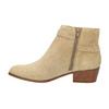 Damskie zamszowe botki bata, beżowy, 693-1600 - 26