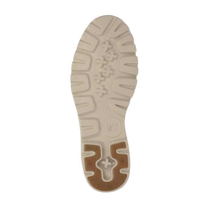 Nieformalne półbuty ze skóry weinbrenner, brązowy, 526-4606 - 26
