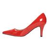 Czółenka damskie ze skóry insolia, czerwony, 728-5620 - 26