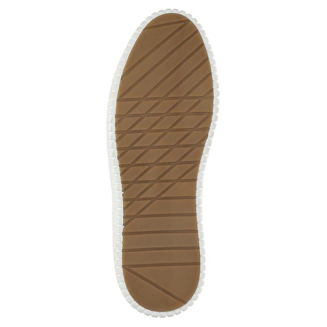 Nieformalne trampki męskie bata, niebieski, 849-9621 - 26