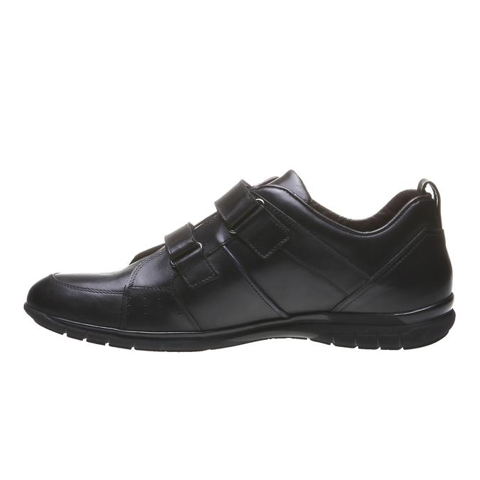 Skórzane buty sportowe bata, czarny, 814-6344 - 15