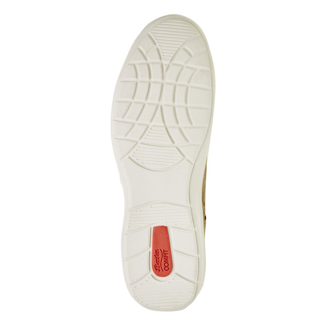 Skórzane buty sportowe na co dzień, beżowy, 843-8643 - 26