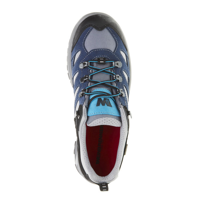 Skórzane buty Outdoor north-star, niebieski, 543-9208 - 19