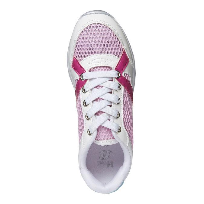 Dziewczęce buty sportowe mini-b, biały, 329-1175 - 19