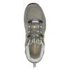 Damskie skórzane buty w stylu Outdoor power, szary, 503-2829 - 19