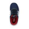 Trampki dziecięce o sportowym designie adidas, niebieski, 109-9141 - 19