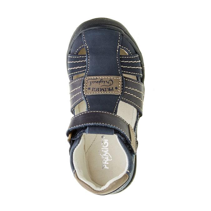 Dziecięce skórzane sandały primigi, niebieski, 113-9009 - 19
