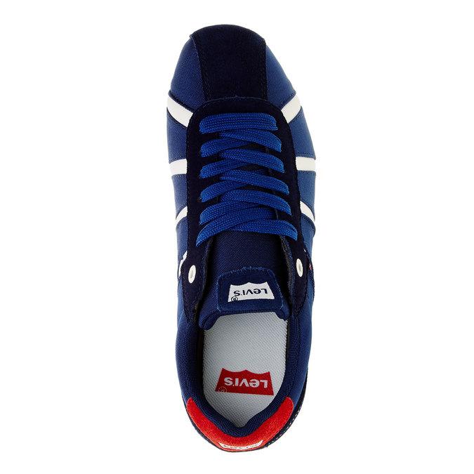 Męskie buty sportowe na co dzień levis, niebieski, 841-9198 - 19
