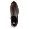 Buty za kostkę ze skóry z suwakami bata, czerwony, 596-5605 - 19