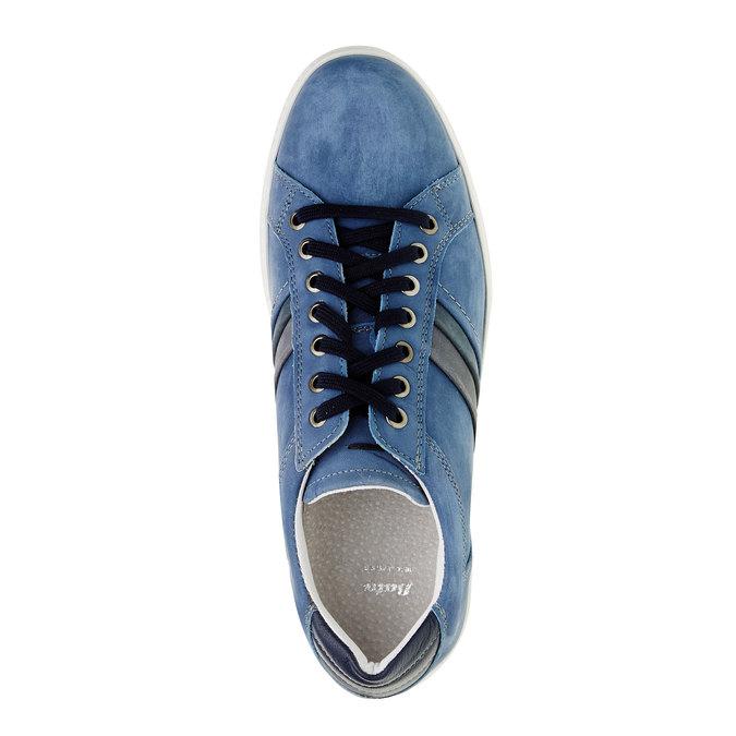 Zamszowe buty sportowe w codziennym stylu bata, niebieski, 846-9638 - 19