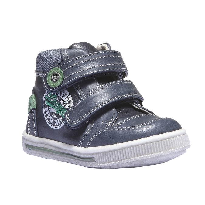 Dziecięce buty sportowe mini-b, niebieski, 111-9100 - 13