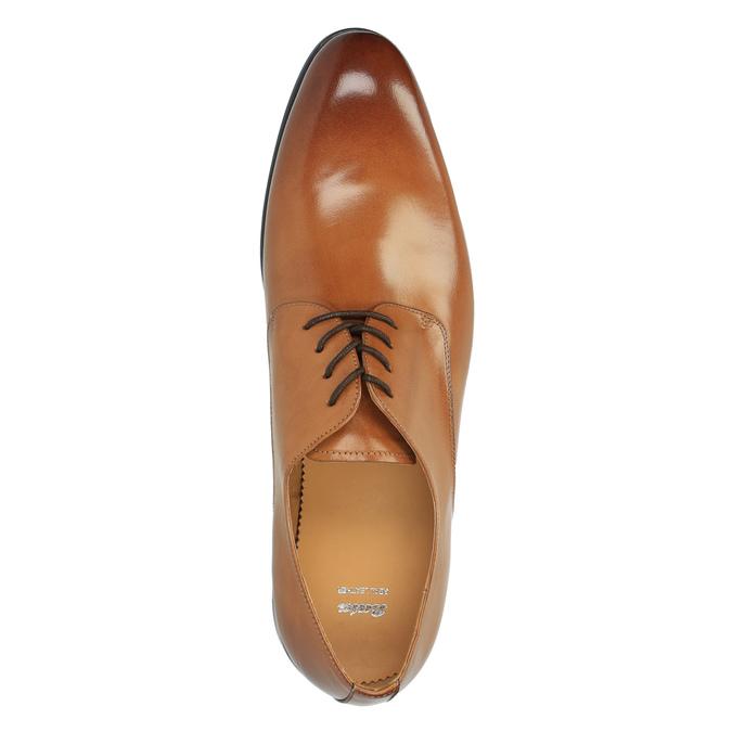Brązowe angielki ze skóry bata, brązowy, 824-3648 - 19