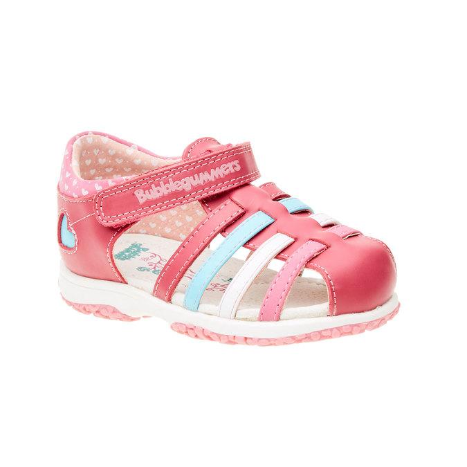 Dziecięce buty z zakrytą piętą bubblegummer, różowy, 124-5142 - 13