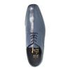 Męskie skórzane półbuty bata, niebieski, 824-9669 - 19