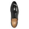 Półbuty oksfordy ze skóry bata, czarny, 824-6642 - 19