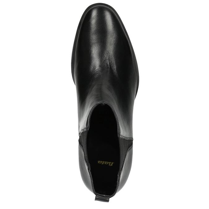 Damskie skórzane buty Chelsea Boots bata, czarny, 596-6623 - 19