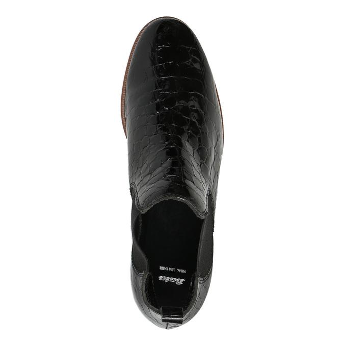 Chelsea boots ze skóry bata, czarny, 598-6600 - 19