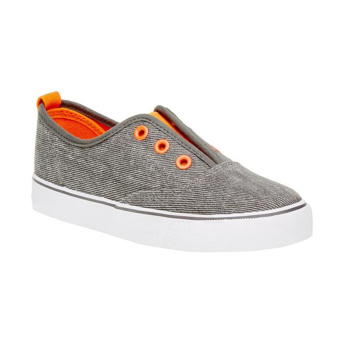 Dziecięce buty Plim Soll mini-b, szary, 319-2150 - 13