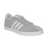 Szare damskie buty sportowe z zamszu adidas, szary, 503-2201 - 13