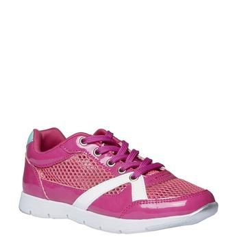 Dziewczęce buty sportowe mini-b, różowy, 329-5175 - 13