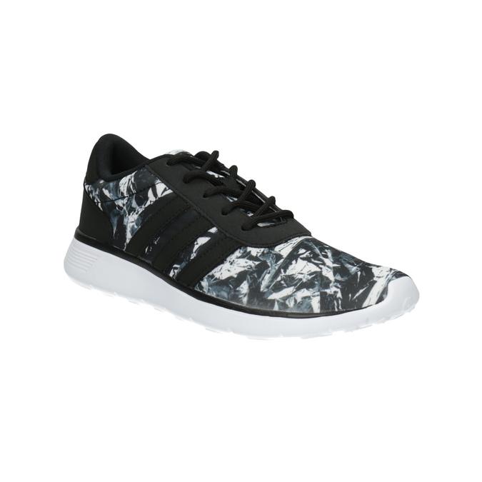 Trampki sportowe damskie z nadrukiem adidas, czarny, 509-6535 - 13