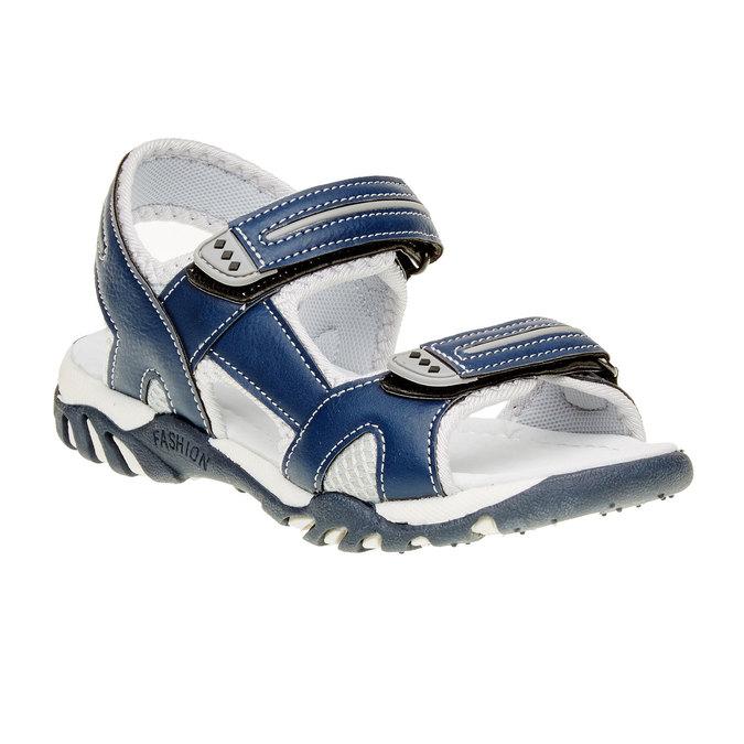 Sandały dziecięce mini-b, niebieski, 361-9181 - 13