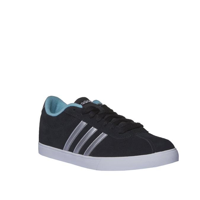 Zamszowe buty sportowe na co dzień adidas, czarny, 503-6685 - 13