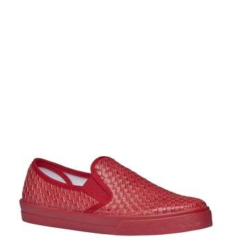 Damskie buty typu plimsoll north-star, czerwony, 531-5119 - 13