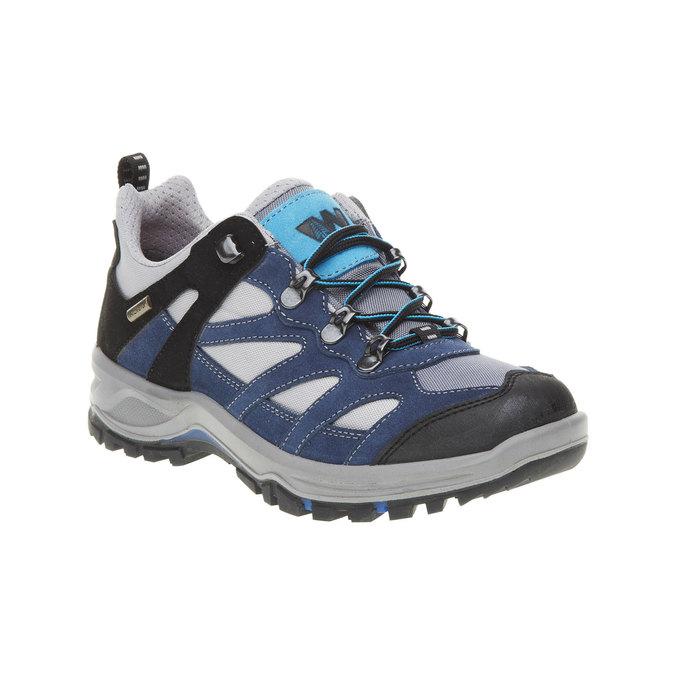 Skórzane buty Outdoor north-star, niebieski, 543-9208 - 13