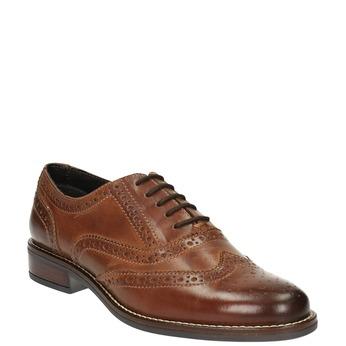 Półbuty damskie bata, brązowy, 524-4600 - 13