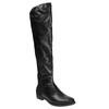 Kozaki damskie za kolana bata, czarny, 591-6604 - 13