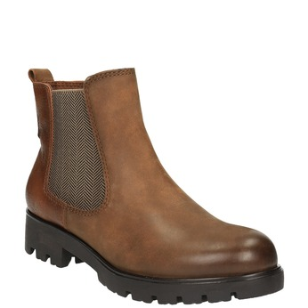 Botki damskie bata, brązowy, 696-4606 - 13