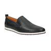 Męskie skórzane buty Slip On bata, czarny, 814-9148 - 13