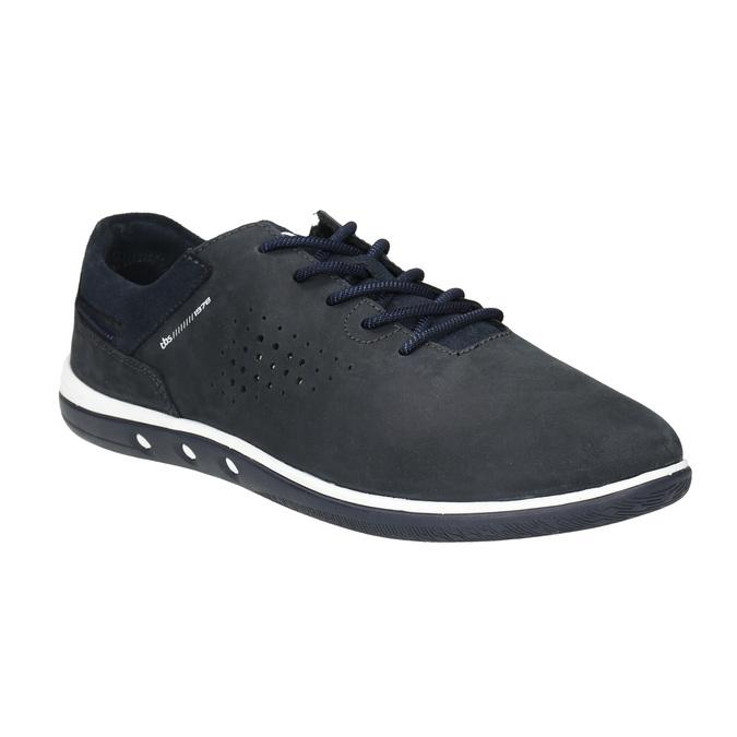 Skórzane buty sportowe na co dzień, czarny, 833-9003 - 13