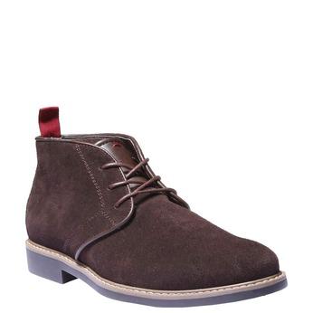 Buty do kostki w stylu Chukka bata, brązowy, 893-4245 - 13