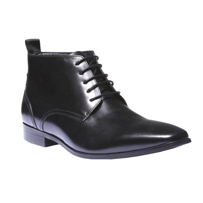 Skórzane botki bata, czarny, 894-6144 - 13