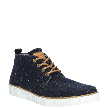 Nieformalne trampki męskie bata, niebieski, 849-9621 - 13