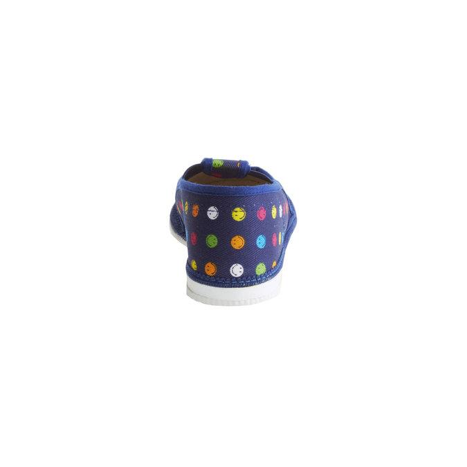Kapcie dziecięce bata, niebieski, 179-9105 - 17