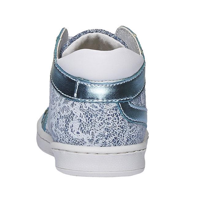 Dziecięce buty sportowe do kostki bubblegummer, niebieski, 129-9146 - 17