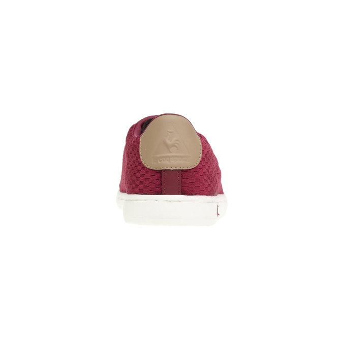 Trampki w codziennym stylu le-coq-sportif, czerwony, 509-5105 - 17