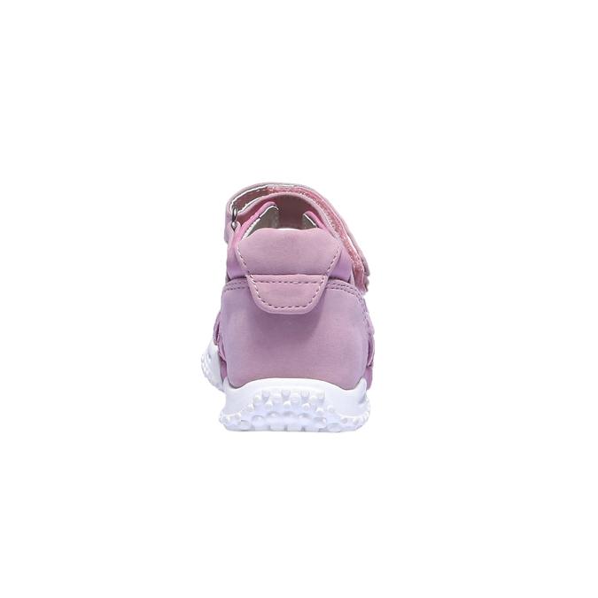 Sandały dziewczęce mini-b, czerwony, 161-5116 - 17