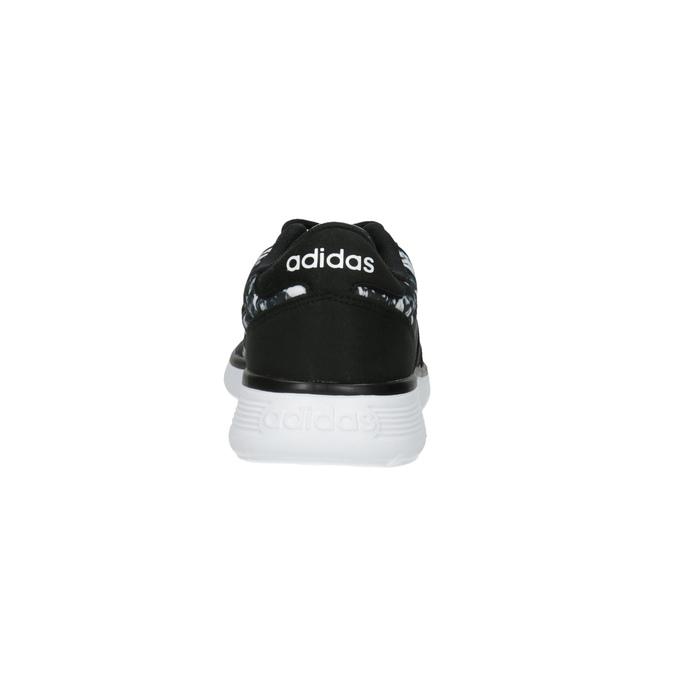Trampki sportowe damskie z nadrukiem adidas, czarny, 509-6535 - 17