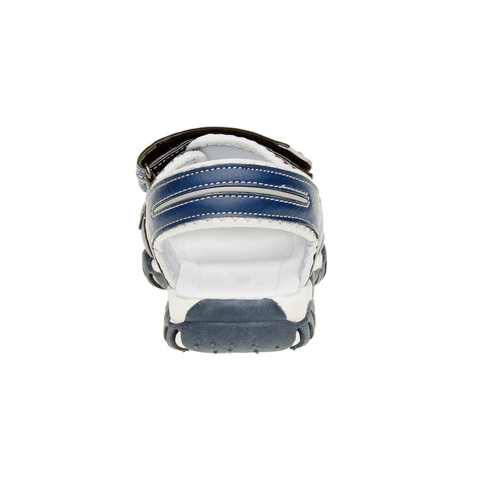 Sandały dziecięce mini-b, niebieski, 361-9181 - 17