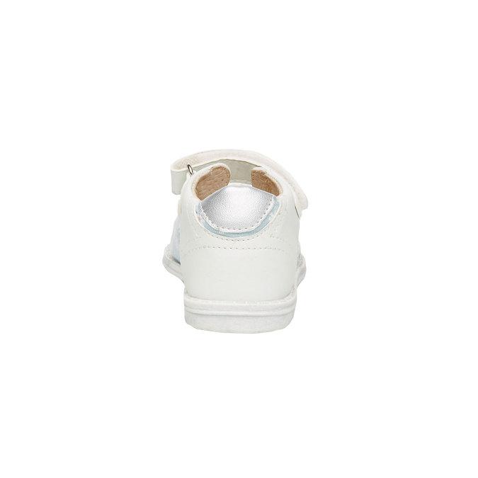 Sandały dziecięce mini-b, biały, 169-1100 - 17