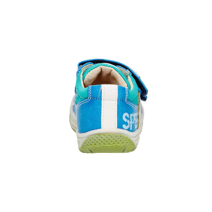Dziecięce buty na rzep mini-b, niebieski, 111-9104 - 17